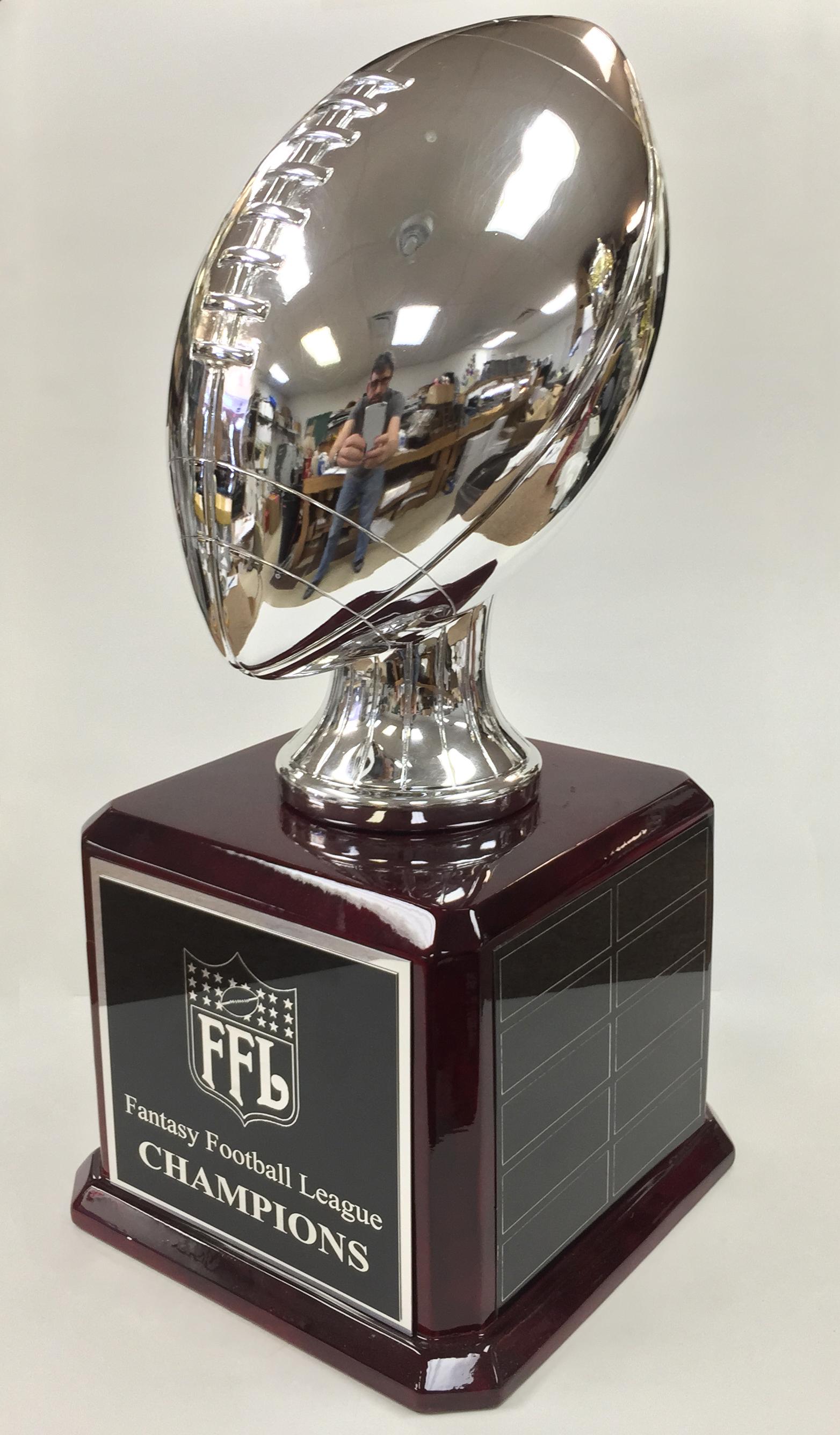 Kevin Hart Mustang >> Fantasy Football Trophy Images