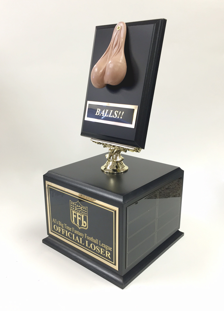 Last Place Trophy For Fantasy Football Fantasyfootball Lastplace
